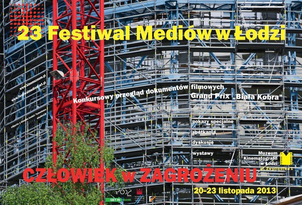 23_Festiwal_Mediow_-_plakat