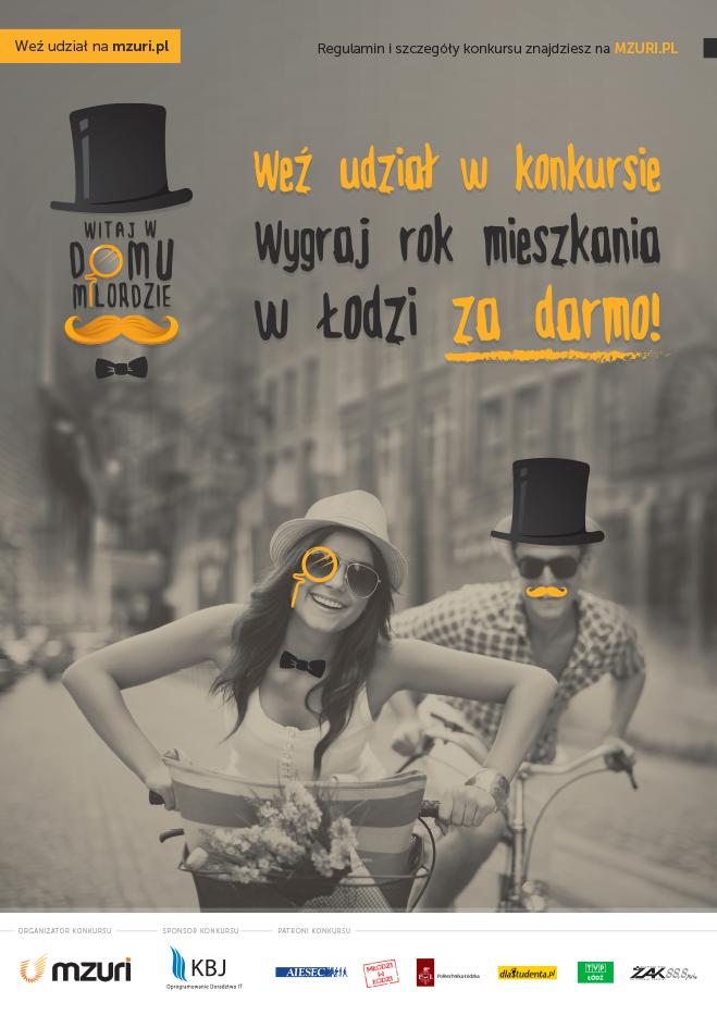 Plakat_Witaj_w_domu_Milordzie