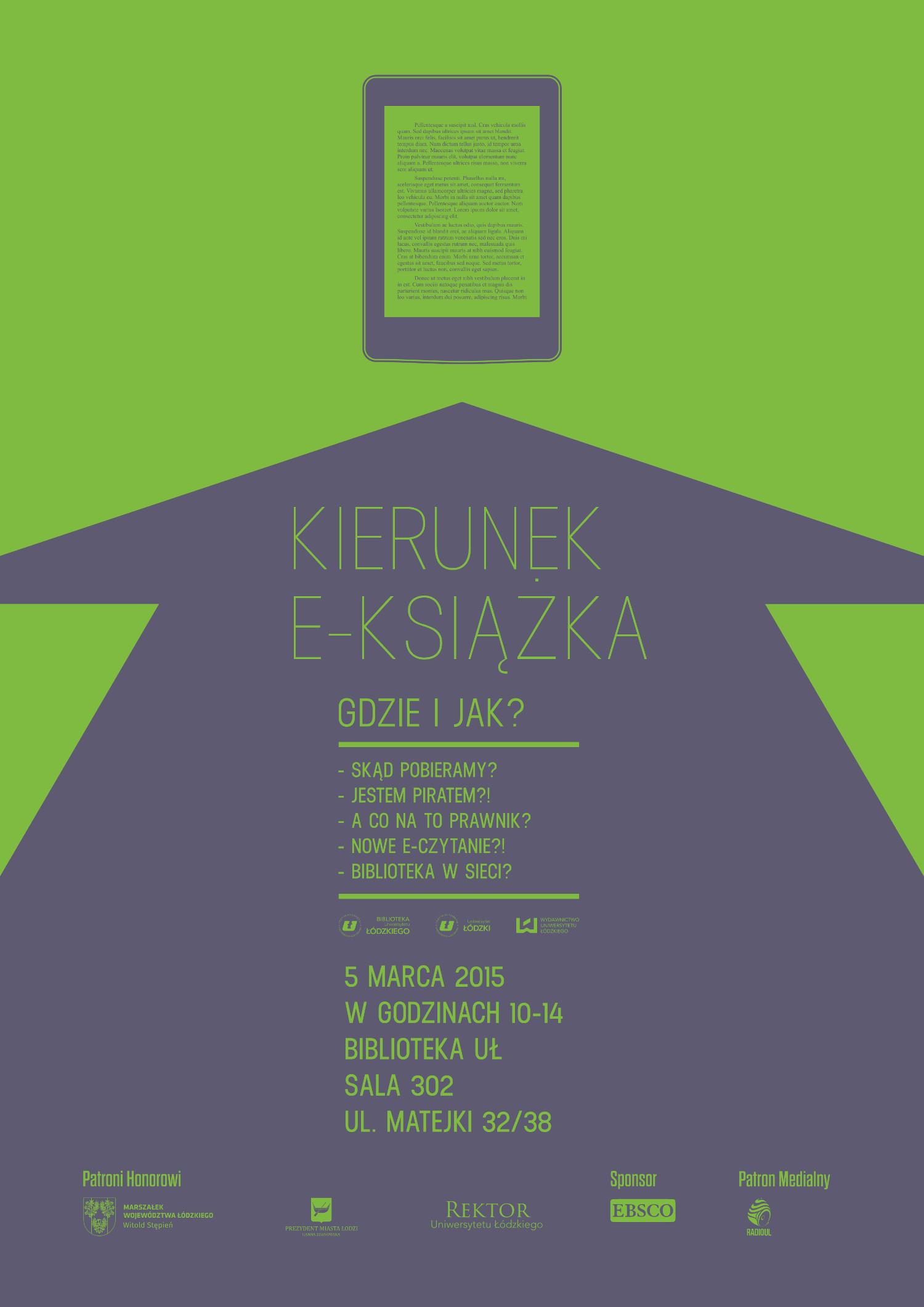Kierunek_e-ksiazka_-_plakat
