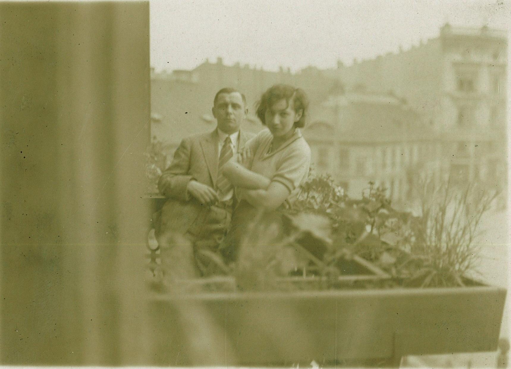 balkon_w_biurze_1932_kolega_Stanislaw_Wyznikiewicz