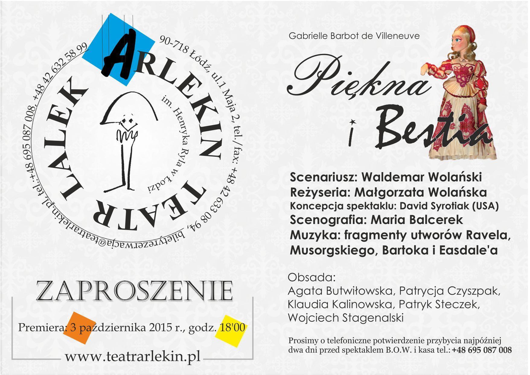 zaproszenie_Piekna_i_Bestia