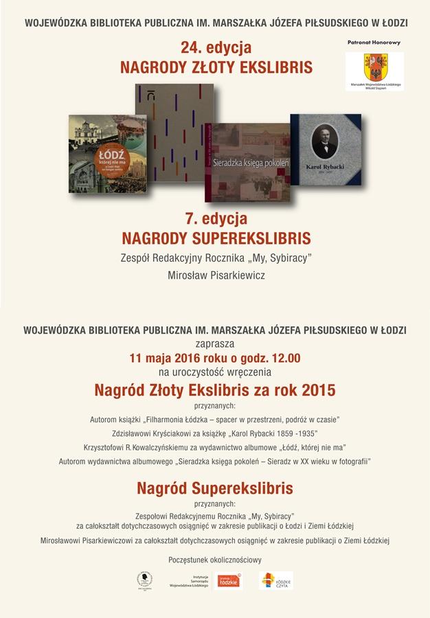 Nagrody_Zloty_Ekslibris_Superekslibris