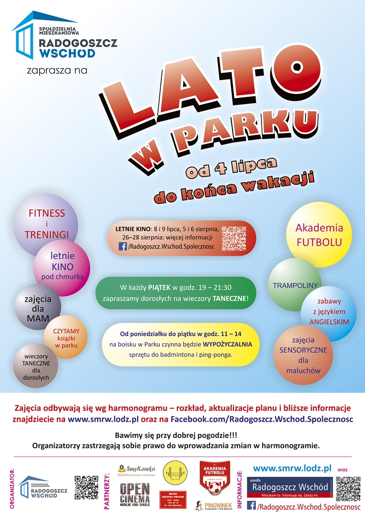 Lato_w_parku_plakat