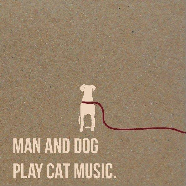 Man_And_Dog_Play_Cat_Music_-_Grafika