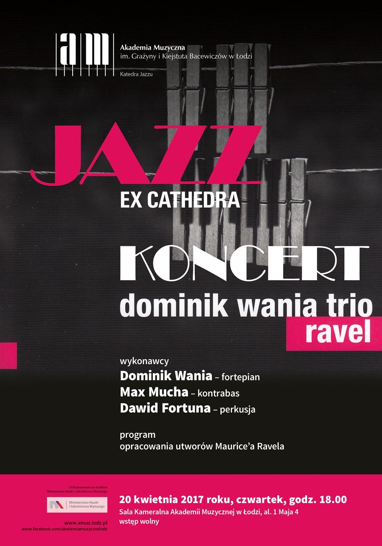 Jazz-ex-Cathedra---Dominik-Wania-Trio-plakat