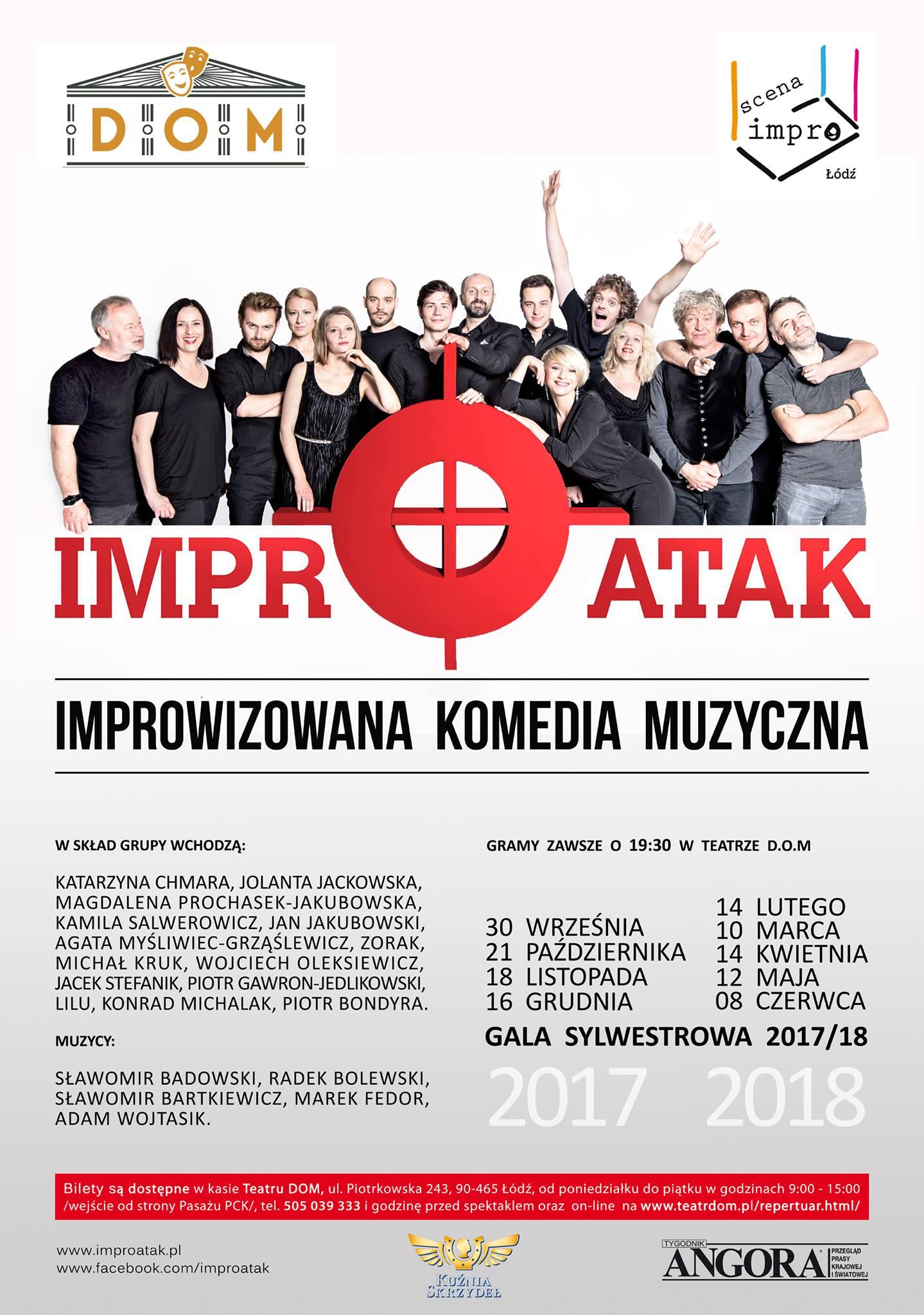 Improwizowana_Komedia_Muzyczna_-_plakat