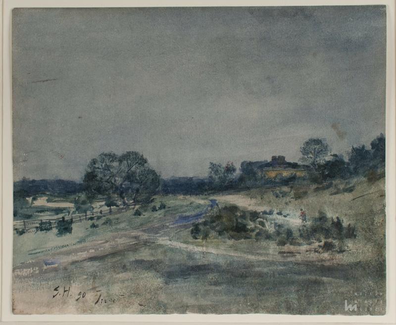 Samuel_Hirszenberg_Pejza_Inowdz_akwarela_1890