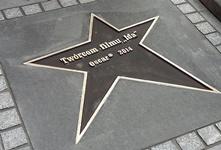Odsłonięcie gwiazdy filmu Ida