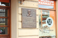 Odsłonięcie tablicy Zofii Hertz