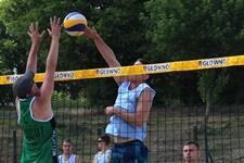 Projekt Plażówka 2015 - turniej w Głownie