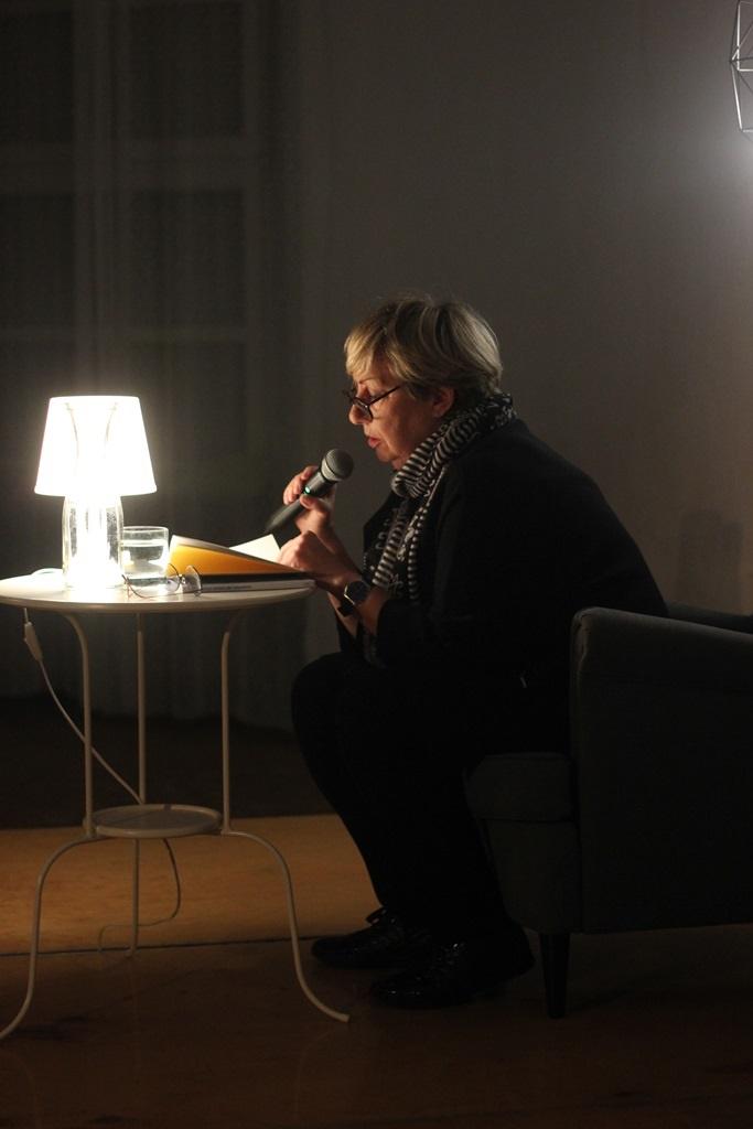 Spotkanie z Ewą Lipską