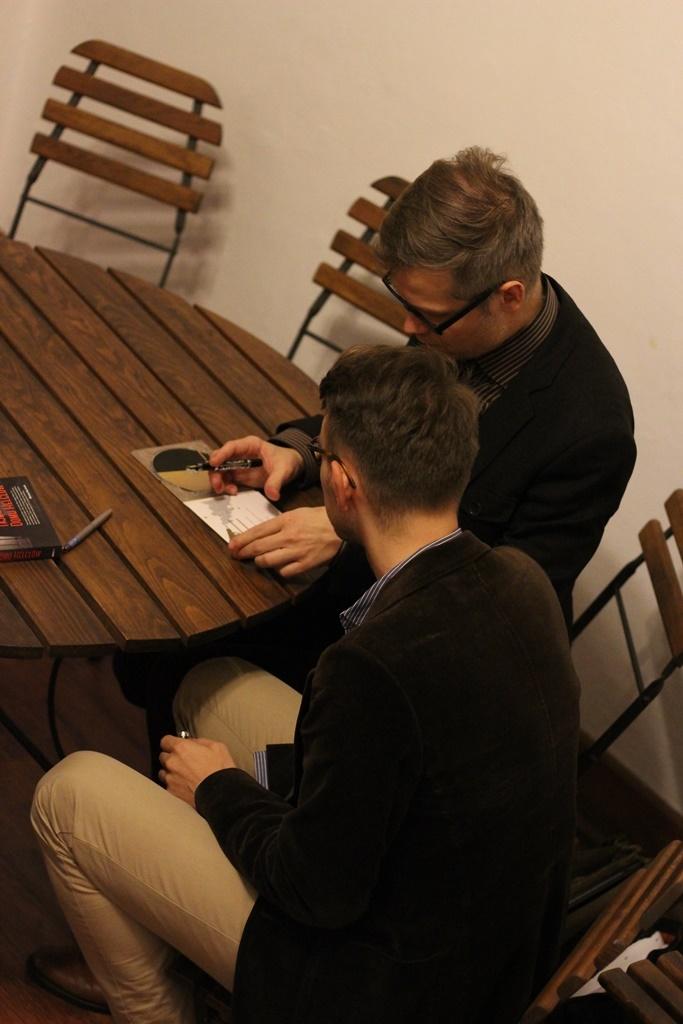 Spotkanie z Jackiem Dehnelem i Piotrem Tarczyńskim