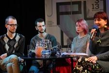 Spotkanie z poetami z Ukrainy: Oksana Gadżij i Arsenij Tarasow