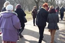 Wiosenne spacery Zielonej Łodzi