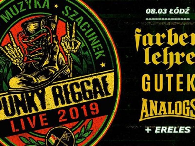 ccb85d3e7a5047 Punky Reggae live 2019 w Łódzkim Domu Kultury (zakończony) - Plaster Łódzki